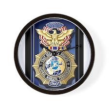 USAF Police GWOT Wall Clock