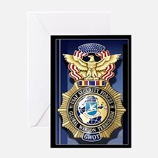 USAF Police GWOT Greeting Card