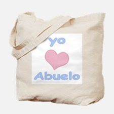 I Heart Grandpa Spanish Tote Bag
