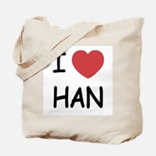 I heart Han Tote Bag