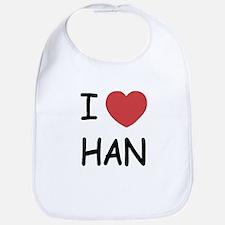 I heart Han Bib