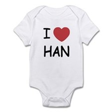 I heart Han Infant Bodysuit