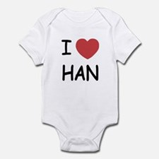 I heart Han Infant Bodysuit