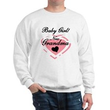 Baby Girl New Grandma Sweatshirt
