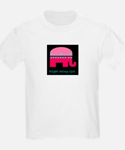Right Wing Girl T-Shirt