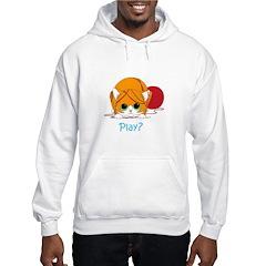 Kitten Play Hooded Sweatshirt