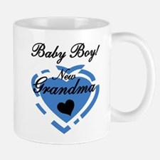 Baby Boy New Grandma Mug