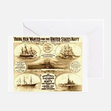 Young Men Wanted Greeting Card