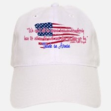 Kisses Goodbye Baseball Baseball Cap