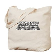 Affairs of Dragons Tote Bag
