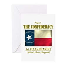 1st Texas Infantry Greeting Cards (Pk of 10)