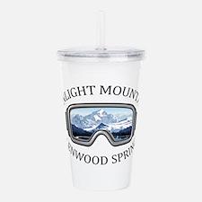 Sunlight Mountain Reso Acrylic Double-wall Tumbler