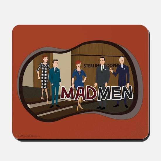 Sterling Cooper Mad Men Mousepad