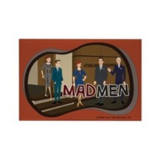 Sterling Cooper Mad Men Magnet