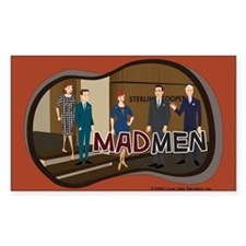 Sterling Cooper Mad Men Decal