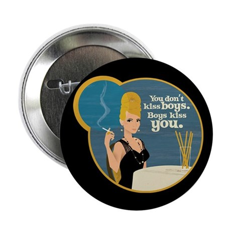 """Mad Men Betty Draper 2.25"""" Button"""
