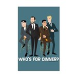 Mad Men Philanderers Mini Poster Print