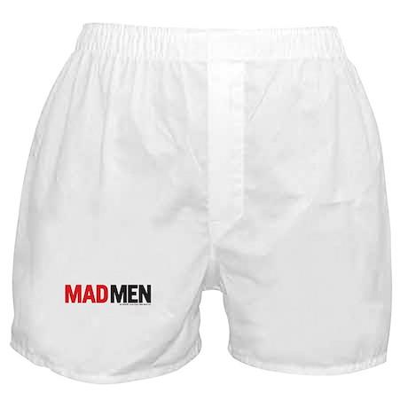 Mad Men Logo Boxer Shorts
