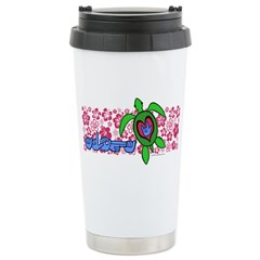 ILY Aloha Hawaii Turtle Travel Mug