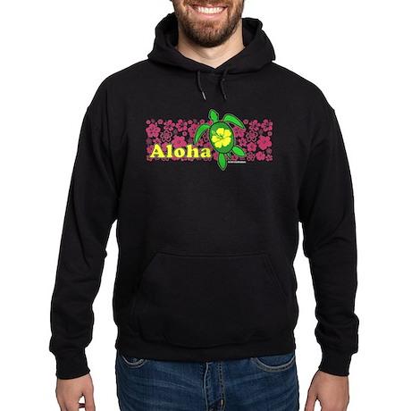 Aloha Hawaii Turtle Hoodie (dark)