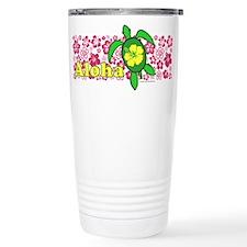 Aloha Hawaii Turtle Travel Mug