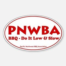 Pacific Northwest Barbecue As Decal