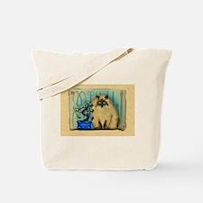 Bonsai Cat Tote Bag