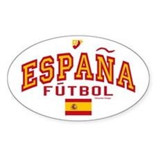 Espana Futbol/Spain Soccer Decal