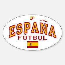 Espana Futbol/Spain Soccer Decal