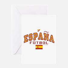 Espana Futbol/Spain Soccer Greeting Card