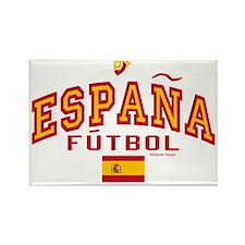 Espana Futbol/Spain Soccer Rectangle Magnet
