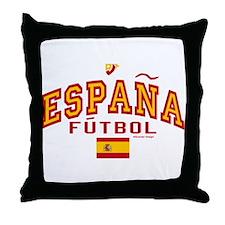 Espana Futbol/Spain Soccer Throw Pillow