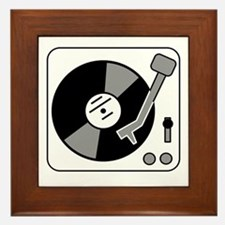 Turntable Framed Tile