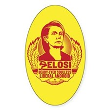 Pelosi Android Decal