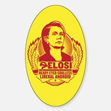 Pelosi Android Sticker (Oval)