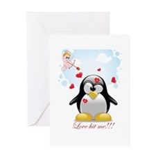 Love Hit Me / Card Greeting Cards