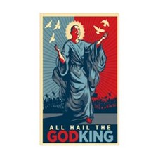Obama Godking Decal