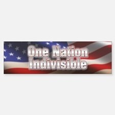 One nation indivisible Car Car Sticker