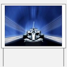 Speedy Blue F1 Yard Sign
