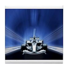 Speedy Blue F1 Tile Coaster