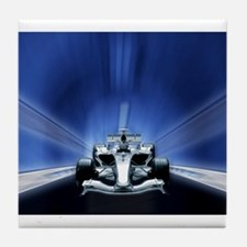 Speedy Blue F1 Tile Coaster