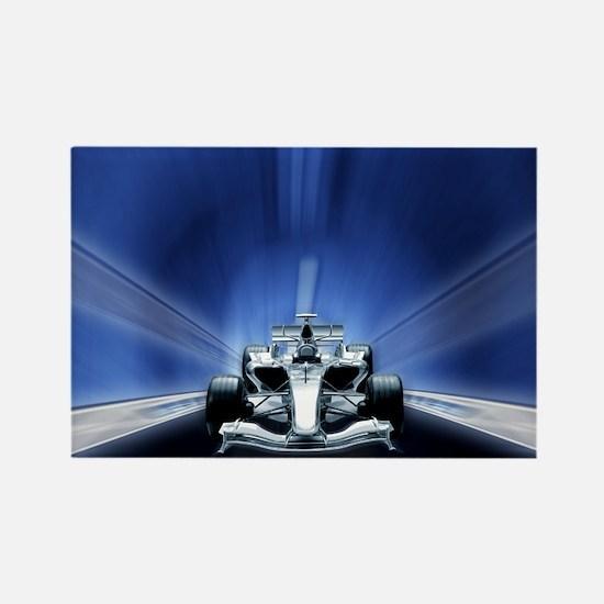 Speedy Blue F1 Rectangle Magnet