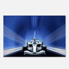 Speedy Blue F1 Postcards (Package of 8)
