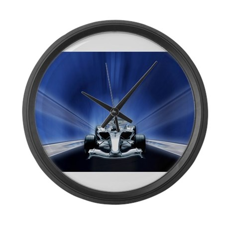 Speedy Blue F1 Large Wall Clock