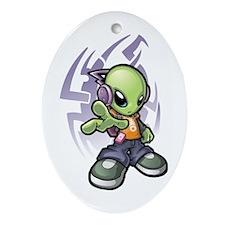 Alien Ornament (Oval)