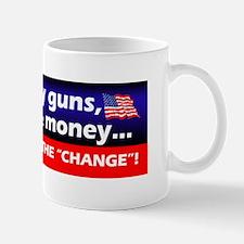 I'll Keep My Guns, Freedom & Money Mug