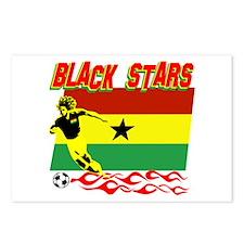 Ghana Black stars Postcards (Package of 8)