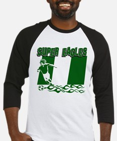 Super Eagles of Nigeria Baseball Jersey