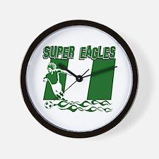 Super Eagles of Nigeria Wall Clock