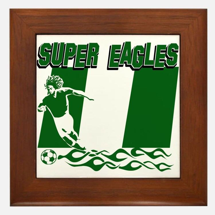 Super Eagles of Nigeria Framed Tile